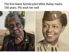 Millie Bailey First African American pilot Black Power, Black History Facts, Black History Month People, By Any Means Necessary, Black Pride, My Black Is Beautiful, Beautiful Couple, Faith In Humanity, African American History