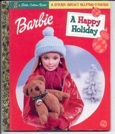 2001 Barbie A Happy Holiday Children's Hardback Book 2001 | eBay A Little Golden Book