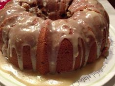 Apple Spice Cake with Brown Sugar Glaze. This is the cake for the first birthday. Apple Spice Cake with Brown Sugar Glaze. This is the cake for the first birthday. Fruit Recipes, Apple Recipes, Baking Recipes, Dessert Recipes, Cake Recipes, Brown Sugar Frosting, Brown Sugar Glaze, Köstliche Desserts, Delicious Desserts