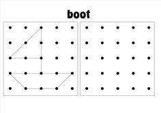 ruimtelijke orientatie, werkblad 2 - 9 Visual Perceptual Activities, Gross Motor Activities, Sensory Activities, Symmetry Worksheets, Math Worksheets, Teaching Patterns, Tangram, Cycle 1, Dysgraphia