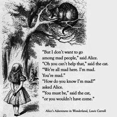 Alice's Adventures in Wonderland~Lewis Carroll Love this book~Always have :-)
