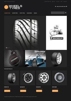 Wheels and Tyres Website Template #virtuemart #autoshop http://www.templatemonster.com/virtuemart-templates/47517.html?utm_source=PinterestM&utm_medium=timeline&utm_campaign=frlkk