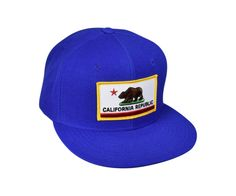 California Flag - Royal Blue Snapback