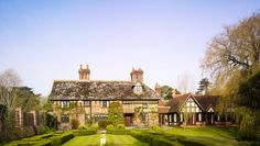 Langshott Manor Hotel: Set in a three-acre garden, Langshott Manor is a historic hotel dating to 1580.