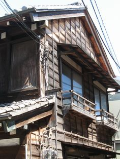 Japanese old style house in Yanaka Area