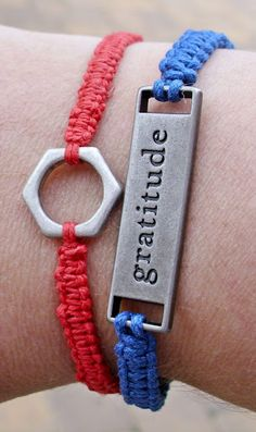 The Shed: How to Make Handmade Bracelets.      A beautiful way to remember gratitude.  :)