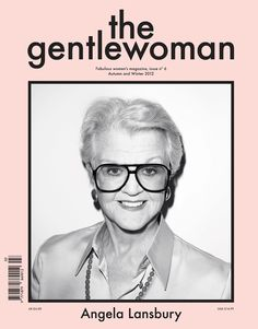 Angela Lansbury photographed by Terry Richardson for The Gentlewoman magazine take this time to post anything legendary she has done, talking to you, broadway & Angela's movie fans. Angela Lansbury, Closed Jeans, Creative Review, Online Shops, Terry Richardson, Magazine Design, Cover Design, Illustration, Pink