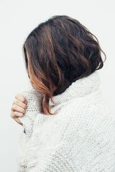 Knit sweater. LOVE