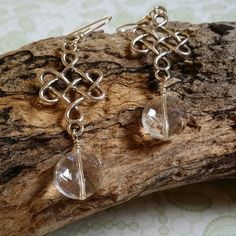 Celtic Queen Earrings by Panache808Designs $15