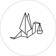 Sluitzegel geometrische ooievaar voor Origami, Geometric Drawing, Baby Drawing, Kids Logo, Baby Cards, Logo Inspiration, Logo Branding, Glass Art, Drawings