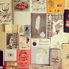 Only a small selection of my #zine collection... Recent pieces from #sfzf in the middle! #WHPMyLibrary of zines | Flickr - Photo Sharing!