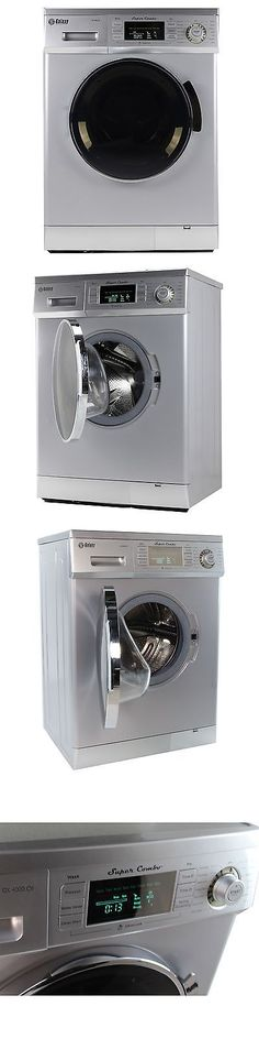 Washer And Dryer Sets 71257 Galaxy 13 Lb Convertible Combo Silver