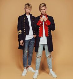 30 Days Idol Challenge {Marcus & Martinus G. Marcus Y Martinus, Love Twins, Boy Fashion, Fashion Outfits, Bars And Melody, Dream Boyfriend, Gym Workout For Beginners, Big Love, Kawaii Girl
