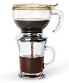 Cool coffee maker.