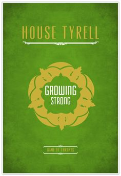 Game of Thrones   Minimalist Posters by Mohamad Birkdar, via Behance
