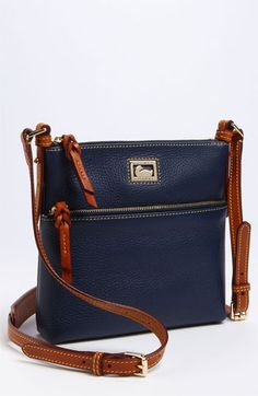 Love the Navy one! Dooney & Bourke 'Dillen II Letter Carrier' Crossbody Bag available at Nordstrom Vintage Leather Messenger Bag, Leather Bag, Nordstrom Bags, Chanel Tote, Crossbody Bag, Tote Bag, Denim Bag, Casual Bags, Tote Handbags