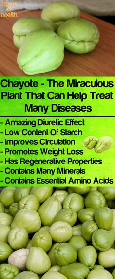 Chayote is mostly cultivated for many culinary purposes but other than that it can give you amazing health benefits.