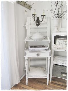 White furniture..shabby