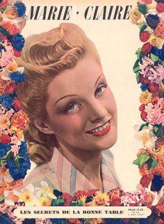 couverture vintage magasine marie claire 16 27 couvertures du magazine Marie Claire divers design