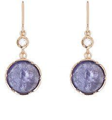 Gemstone Double-Drop Earrings