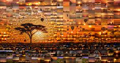Emirates 'New Perspective' campaign - Dar Es Salaam, Tanzania