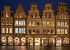 Prinzipalmarkt, Münster, North Rhine-Westphalia, Germany [Dietmar Rabich, Wikimedia Commons]
