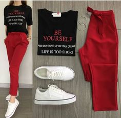 Product details of korean terno casual women tops+waist pants w/belt terno pants - Women's fashion interests Grunge Outfits, Trendy Outfits, Summer Outfits, Cute Outfits, Dinner Outfits, Look Fashion, Korean Fashion, Womens Fashion, Latest Fashion