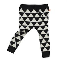 tinycottons - Triangles Knitted Trousers