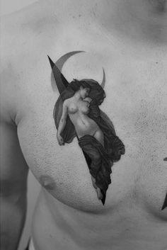 Classical design by Pawel Indulski Sexy Tattoos, Body Art Tattoos, Small Tattoos, Tatoos, Prism Tattoo, Occult Tattoo, Aesthetic Tattoo, Tattoo Graphic, Cool Tats