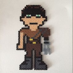 Imperator Furiosa - Mad Max perler beads by Quelyn
