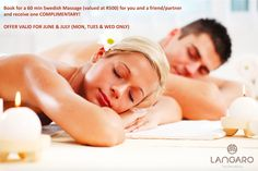 A couple's massage is a wonderful way to enjoy a spa session together with your partner. It is a great way to introduce your partner to the world of luxury spa massage who have never undergone a couple's massage before. Massage Couple, Good Massage, Massage Bar, Massage Envy, Stone Massage, Face Massage, Massage Shiatsu, Massage Relaxant, Prenatal Massage