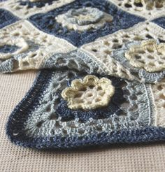 Whit's Knits: Crocheted Garden Baby Blanket - Knitting Crochet Sewing Crafts Patterns and Ideas! - the purl bee