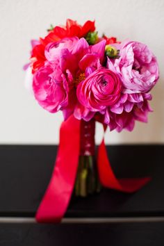 A perfectly pink bouquet.
