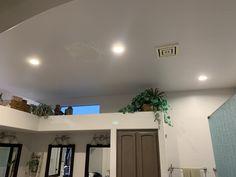 Led Recessed Lighting, Track Lighting, Vanity Lighting, Bathroom Lighting, Pot Lights, Light Installation, Home Improvement, Ceiling Lights, House