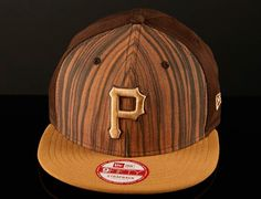"Strapback Saturdays: NEW ERA x MLB ""Pittsburgh Pirates Pattern Front"" Strapback Cap"