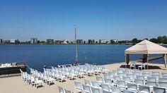 Ceremonie @ strand Villa Westend