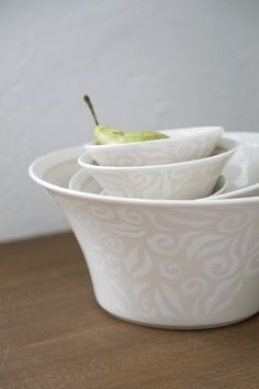 Vanilja Bowl | This bowl belongs to Vanilja tableware series. Designed by Anu Pentik, delicious and rich-in-style Vanilja series makes a fantastic collector's item that brings vanilla to everyday life and festive occasions! Made in Posio, Lapland, these pottery utensils are extremely durable and long-lived.