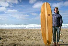 Handcrafted Wooden Surfboard | Wie man ein Surfbrett aus Holz baut
