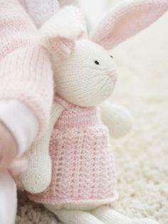 Zoe Bunny | Yarn | Free Knitting Patterns | Crochet Patterns | Yarnspirations. So sweet! For Z