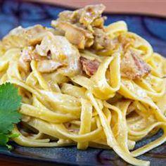 Creamy Fettuccini Carbonara @ http://allrecipes.com.au