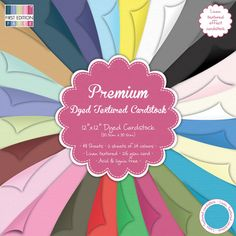 First Edition Premium Textured Cardstock – 12x12 Papers    product image