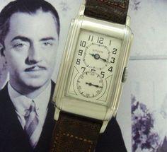 Men's 1930 Gruen Doctor's Watch in 14k Gold | Strickland Vintage Watches