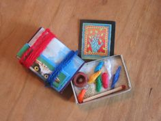 """Matchbox Art Therapy - we use these at DATCO as """"Transition Tool Boxes"""""""