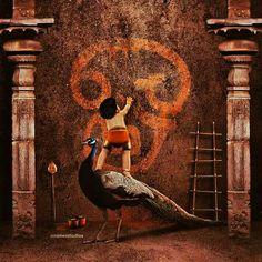 Lord Ganesha Paintings, Lord Shiva Painting, Lord Durga, Lord Murugan Wallpapers, Saraswati Goddess, Lord Shiva Hd Wallpaper, Ganesha Pictures, Lord Shiva Family, God Pictures