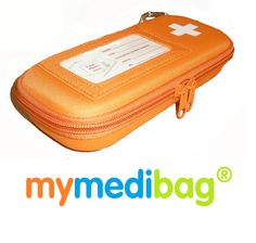 Allergy Apparel - MyMediBag-Double , $26.95 (http://www.allergyapparel.com/mymedibag-double/)