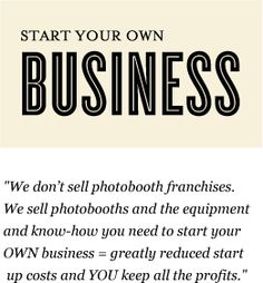 That's right! You can start your own business and you'll receive invaluable support from a close-knit team.