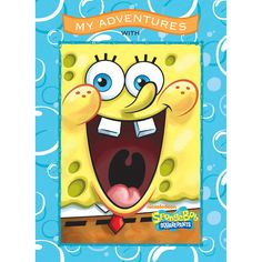 My Adventures with SpongeBob SquarePants - 8x11 Soft Cover Book - Personalized Books - Books | Tv's Toy Box