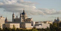 Vista general. Museo de las Colecciones Reales por Emilio Tuñón Álvarez y Luis Moreno García-Mansilla. Imagen cortesía de Patrimonio Nacional.
