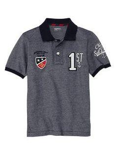 Sailing club oxford polo | Gap Polo Rugby Shirt, Mens Polo T Shirts, Boys Shirts, Tee Shirts, Kids Wear Boys, Polo Design, Le Polo, Manish, Lacoste