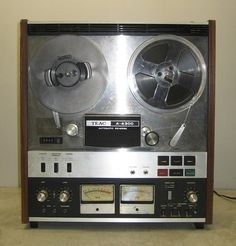 Vintage Teac A 4300 Reel to Reel Auto Reverse Tape Player Recorder | eBay